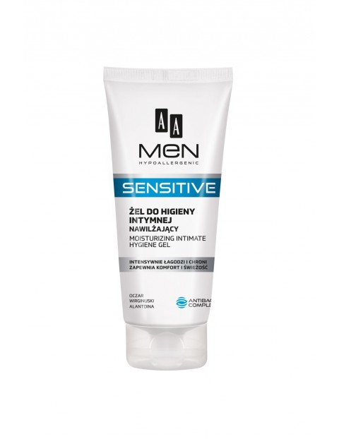 AA Men Sensitive Żel do higieny intymnej nawilżający 200 ml