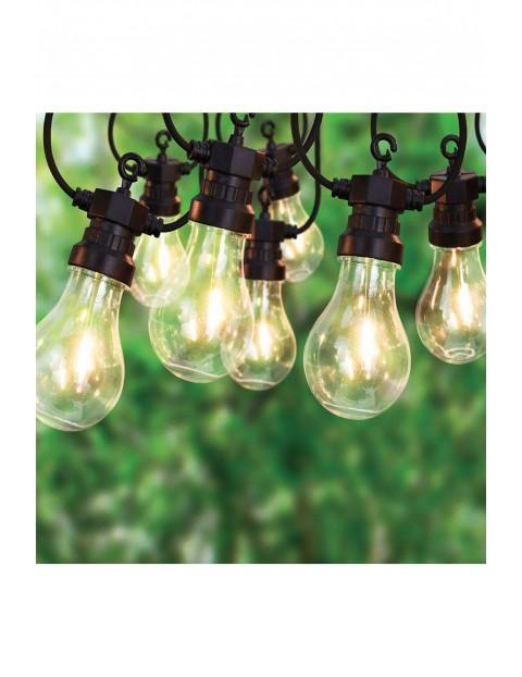 Lampki ogrodowe GIRLANDA 20 żarówek LED - 12,5 m