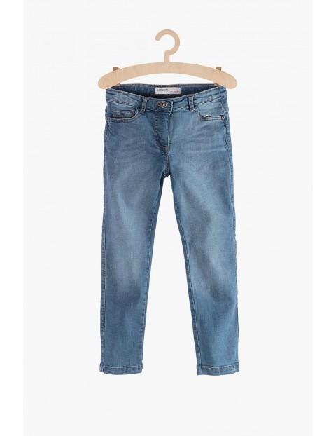 Jeansy dla dziewczynki- niebieskie rurki