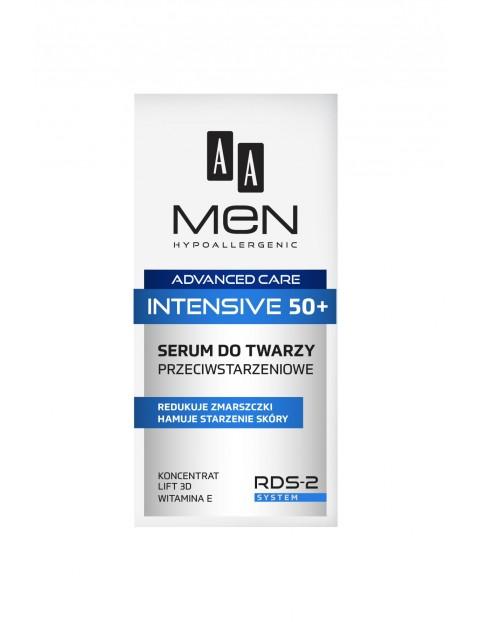 AA Men Advanced Care Intensive 50+ Serum do twarzy przeciwstarzeniowe 50 ml