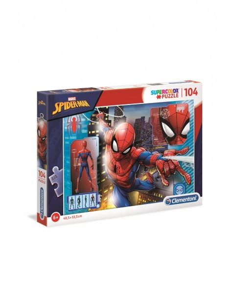 Puzzle Clementoni Spider-Man - 104 elementy wiek 6+