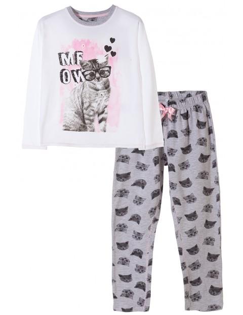 Pidżama dziewczęca 4W3412