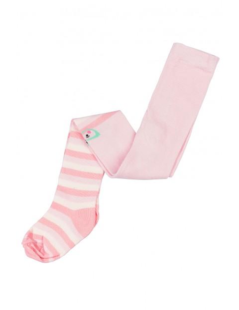 Rajstopki dla dziewczynki różowe 3V3517