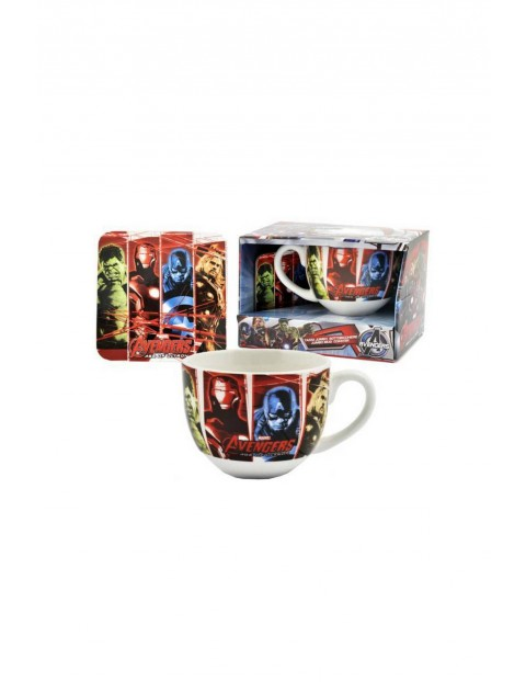 Kubek i podkładka Avengers