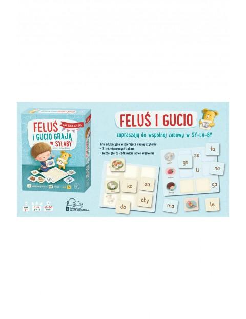 Gra edukacyjna- Feluś i Gucio grają w sylaby wiek 5+