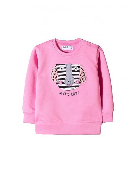 Bluza dresowa cienka nierozpinana 5F3410