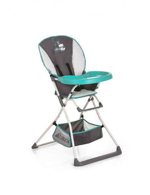 Krzesełko Mac Baby Deluxe w kolorze szaro niebieskim