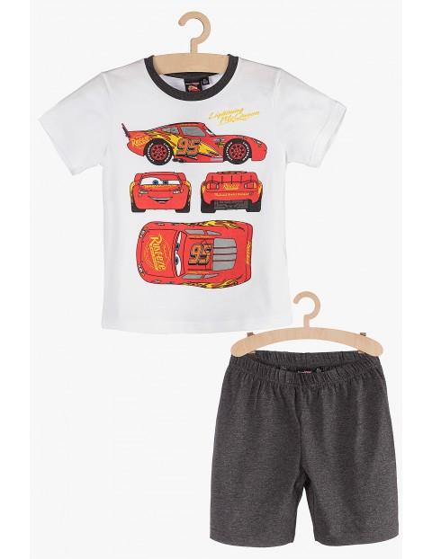Pidżama dla chłopca - biała Zygzak McQueen