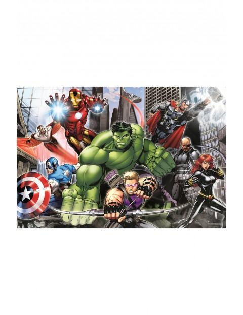 Puzzle  Maxi Super Color Avengers: gotowi do lotu - 104 elementy wiek 4+