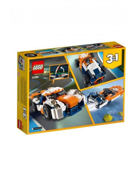 Lego Creator - Słoneczna wyścigówka 3w1 - 221 elementów wiek 7+