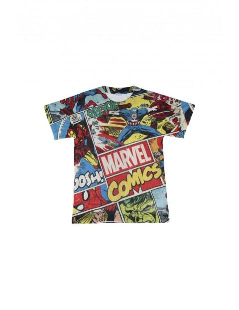 T-shirt chłopięcy premium Marvel