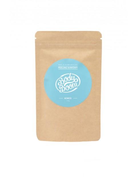 BODYBOOM Peeling kawowy do ciała - Kokos 100g