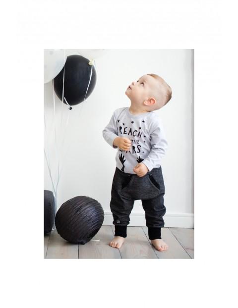 Bluzka niemowlęca z długim rękawem