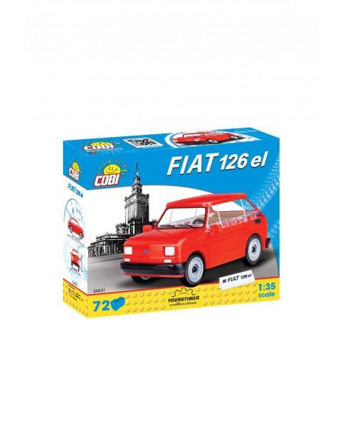 Klocki COBI Maluch Fiat 126p 72el