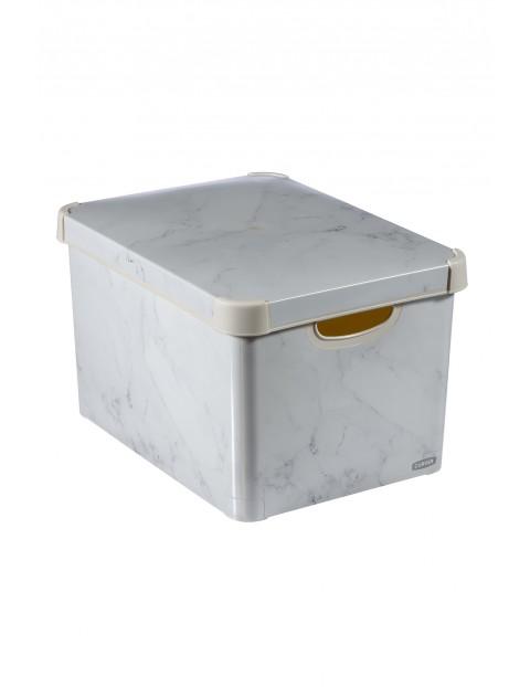 Pojemnik Curver L - szary  39,5x29,5x23,5cm