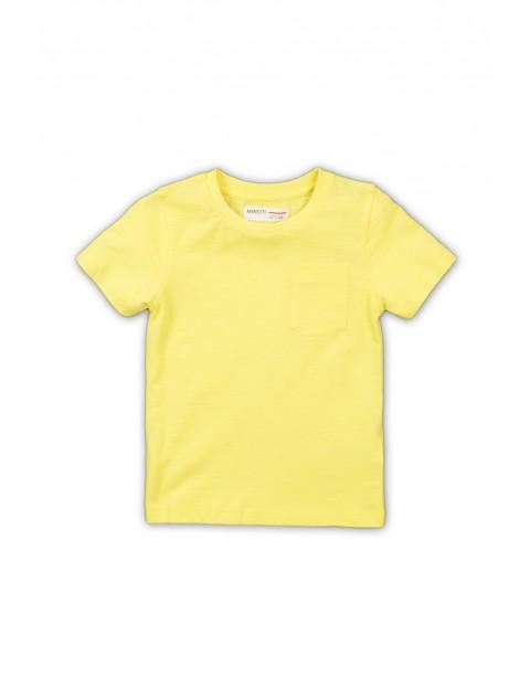 Żółta bluzka niemowlęca - 100% bawełna