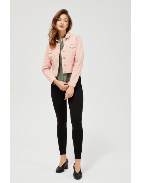 Damska katana jeansowa - różowa