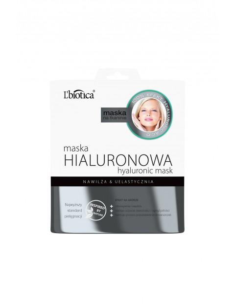 Maska hialuronowa - intensywne nawilżanie L'biotica