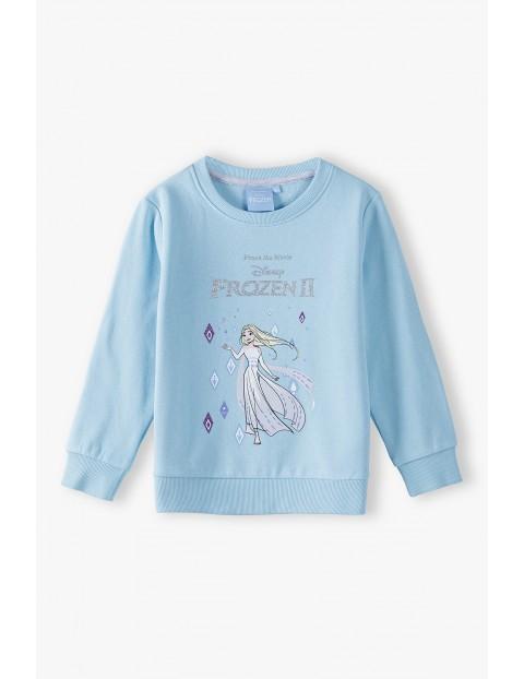 Bluza dziewczęca niebieska FROZEN II