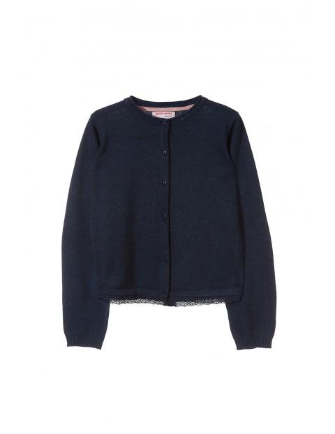 Sweter dziewczęcy 4C3203