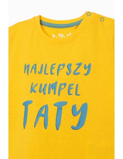 T-shirt niemowlęcy z napisem- Najlepszy kumpel taty