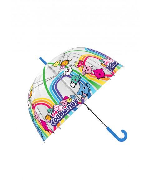 Parasolka przezroczysta, manualna  Followings