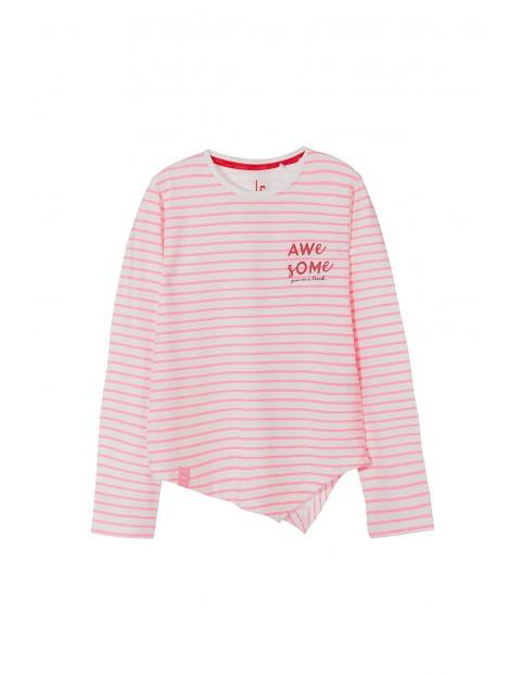 Bluzka dziewczęca w paski 4H3524