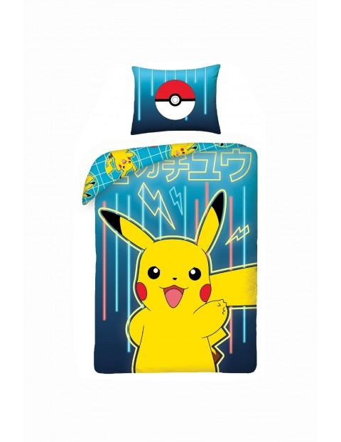 Pościel bawełniana Pokemon 140x200cm