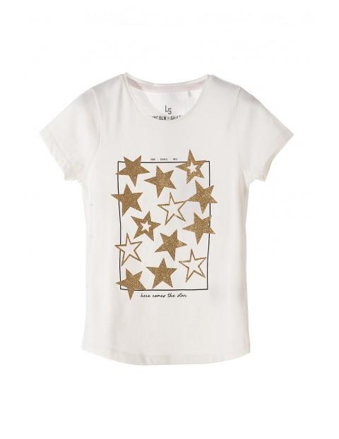 T-shirt dla dziewczynki 4I3515