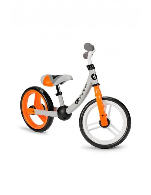 Kinderkraft Rowerek biegowy 2WAY next blaze - pomarańczowy do 35kg