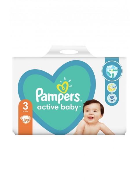Pampers Active Baby, rozmiar3, 90pieluszek, 6-10kg