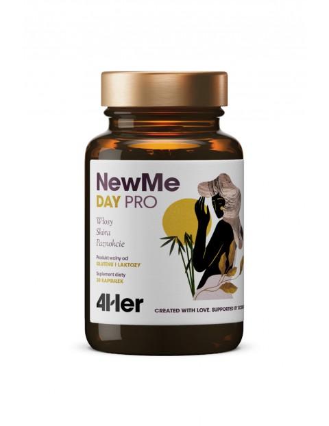NewMe 4Her - Zestaw Witamin i Minerałów na Włosy Skórę i Paznokcie Day PRO + Night PRO HealthLabs -60 kapsułek - 2 pak