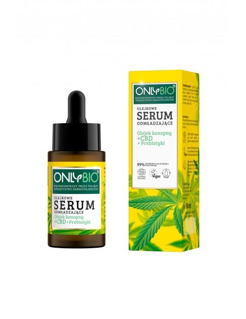 Serum odmładzające olejkowe Olejek + CBD + Prebioticy 30ml