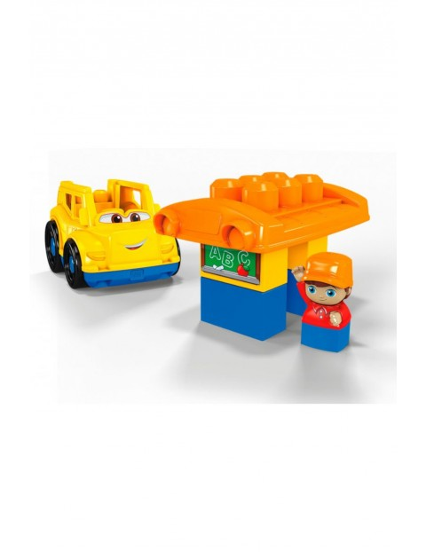 Mega Bloks First Builders - Pojazd z klockami Autobus szkolny wiek 1-5lat