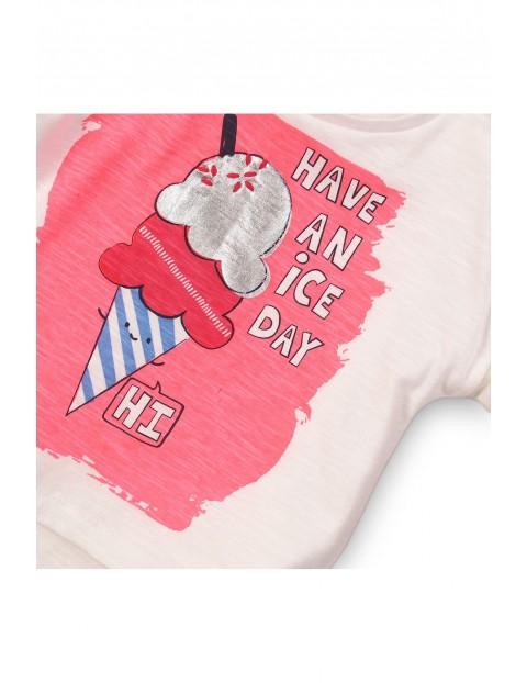 Koszulka dziewczęca- Have a nice day rozm 92/98