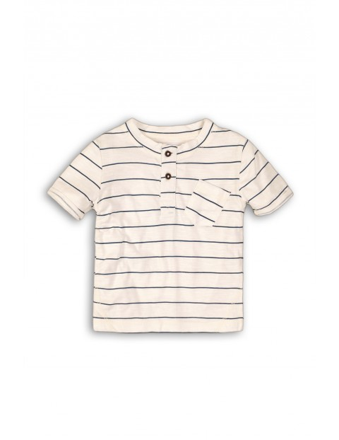 T-shirt niemowlęcy z kieszonką