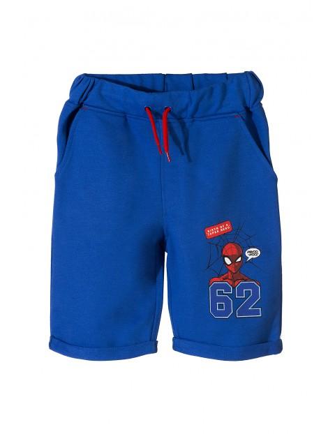Spodenki chłopięce Spiderman- niebieskie