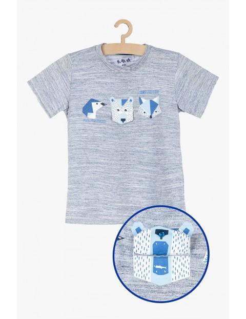 T-shirt dla chłopca- aplikacja 3D