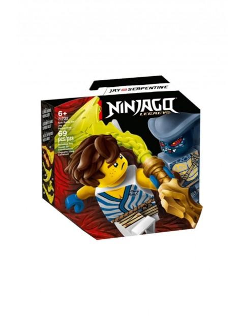 LEGO Ninjago - Epicki zestaw bojowy - Jay kontra Wężon - 69 elementów