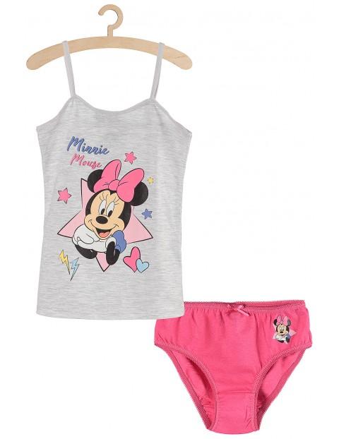 Komplet bielizny dziewczęcej- koszulka i majtki- Myszka Minnie