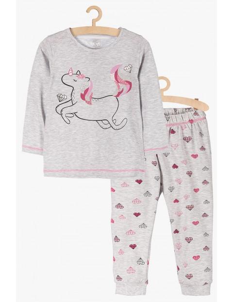 Piżama dla dziewczynki - jednorożec