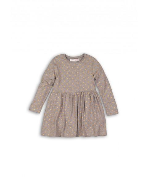 Sukienka dziewczęca 100% bawełna 3K35B0
