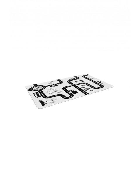 Dywan czarno-biały Street 120x160cm