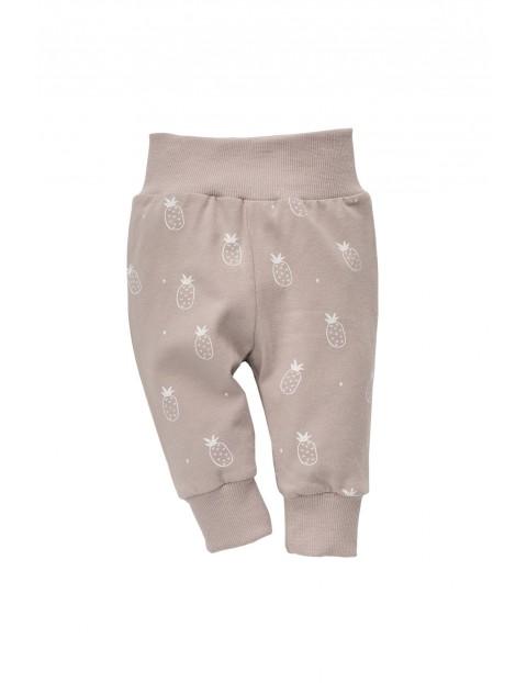 Spodnie dzianinowe niemowlęce 5M35AU