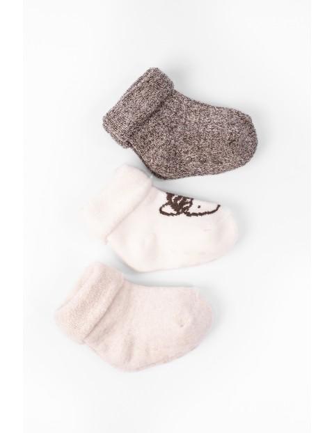 Skarpety dla niemowlaka- owieczki 3pak