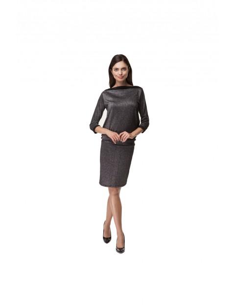 Sukienka Ciążowa Black Lux 5O35LL