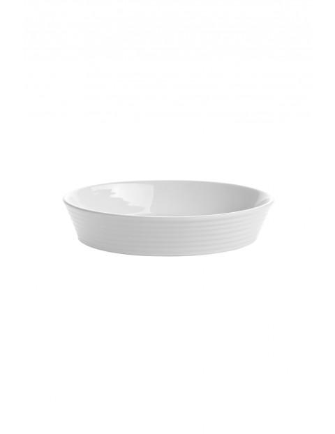 Naczynie ceramiczne Christo białe 20x14cm 0,6l owalne