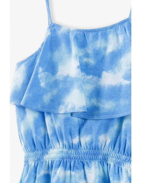 Sukienka na lato - niebieska