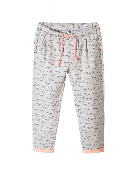 Spodnie dzianinowe dla dziewczynki3M3428
