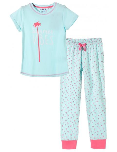Pidżama dziewczęca 4W3411